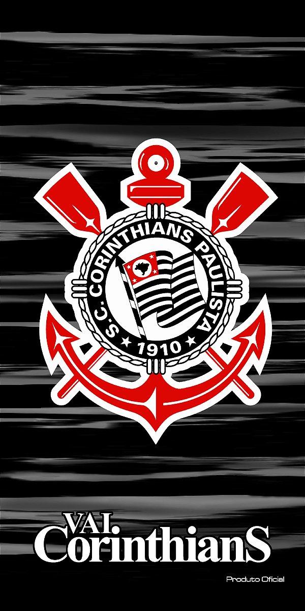 Toalha Corinthians Aveludada Bouton
