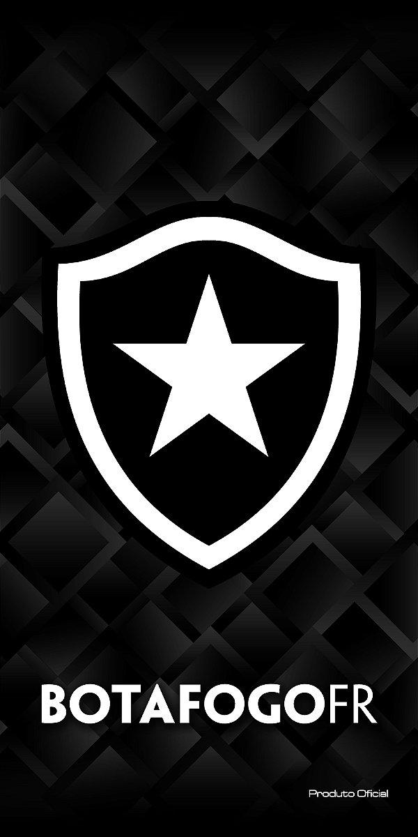 Toalha Botafogo Aveludada Bouton