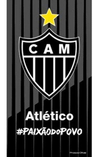 Toalha Atlético Mineiro Aveludada Bouton