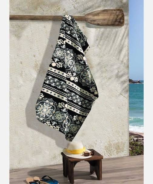 Toalha Praia Dohler Renda 01 Gigante 86x162cm