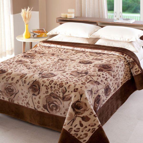Cobertor Casal Raschel Java Jolitex 1,80x2,20