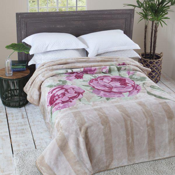 Cobertor Casal Raschel Primore Jolitex 1,80x2,20