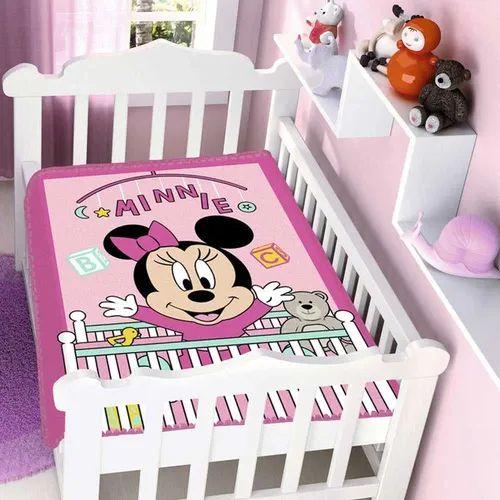 Cobertor Infantil Disney Minnie Bercinho