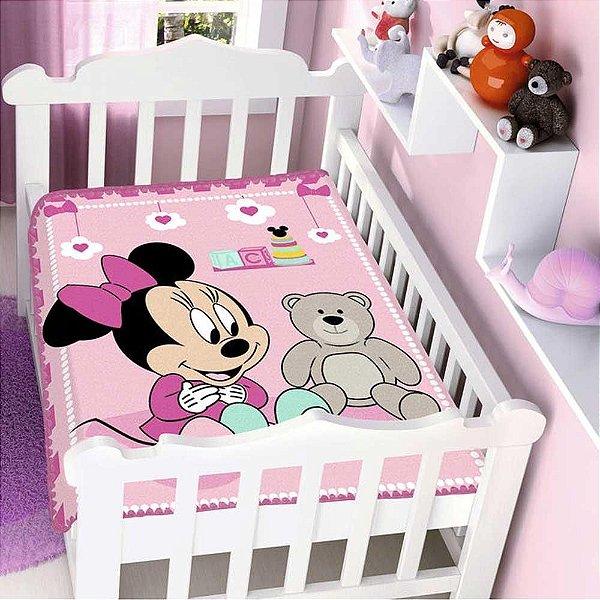 Cobertor Infantil Disney Minnie Surpresa