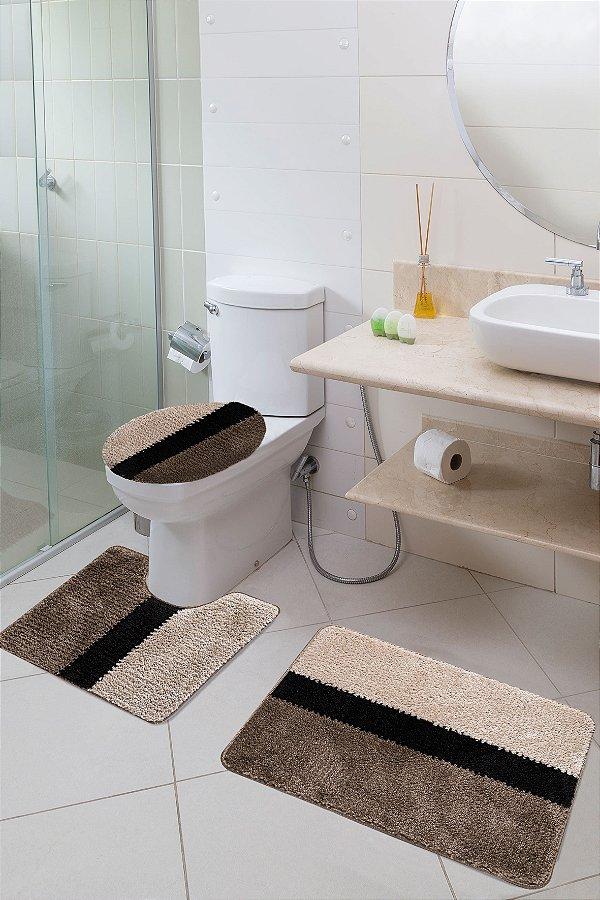 Jogo Banheiro Van Gogh Jolitex Urbano