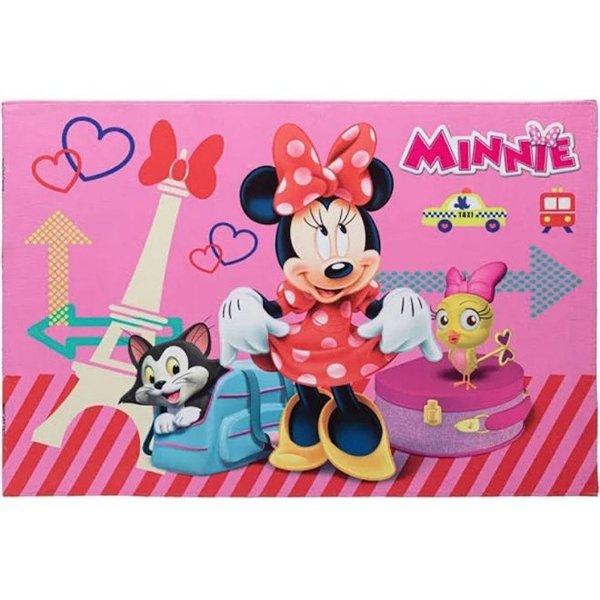 Tapete Minnie Joy Jolitex 70x100 cm