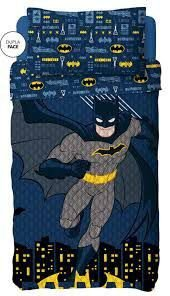Kit Colcha Bouti Batman Lepper c/ porta travesseiro