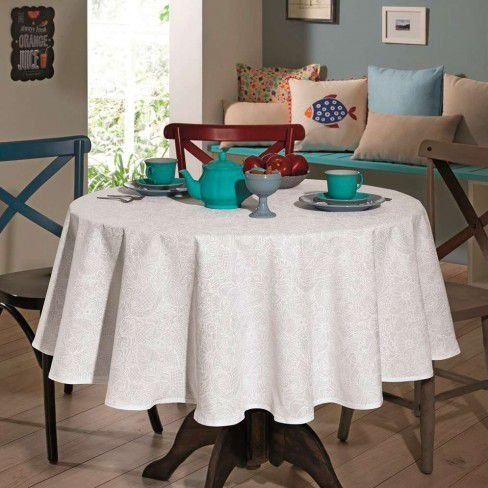 Toalha de Mesa Dohler Clean Edite Redonda 1,60 O