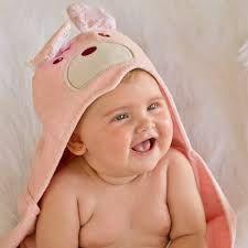 Toalha Banho Com Capuz Sofisticata Baby Princesa Rosa