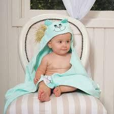 Toalha Banho Com Capuz Sofisticata Baby Fantasia Verde