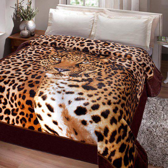 Cobertor Casal Kyor Leopardo
