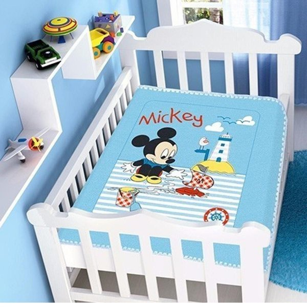 Cobertor Infantil Disney Mickey Barquinho Jolitex