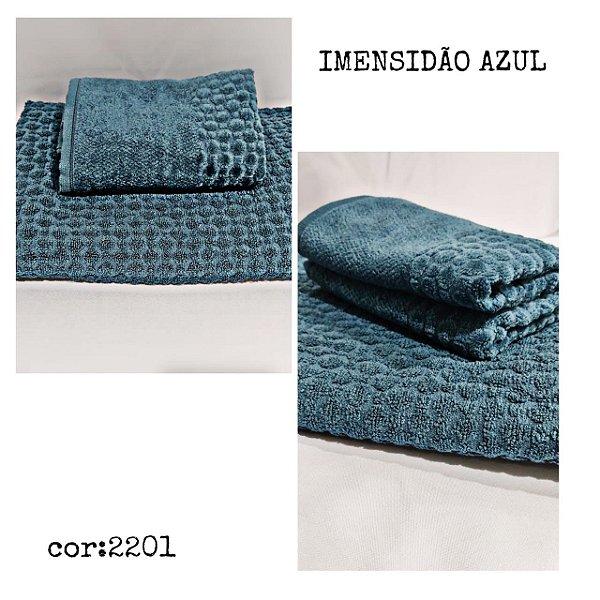 Jogo Toalha Banho e Rosto Soul Imensidão Azul 2 Peças