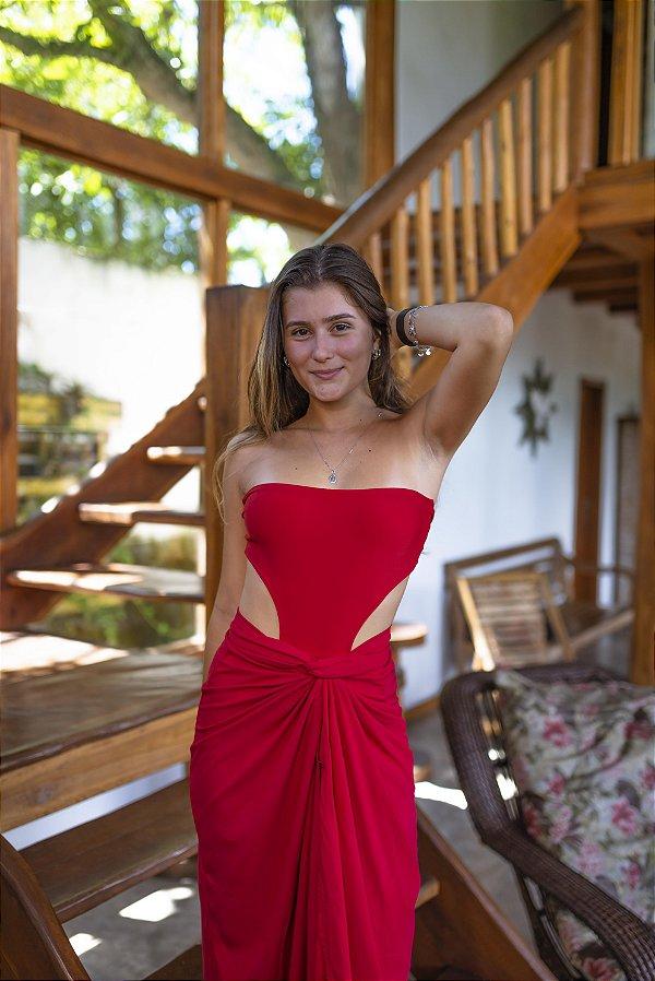 Body Verão Vermelho