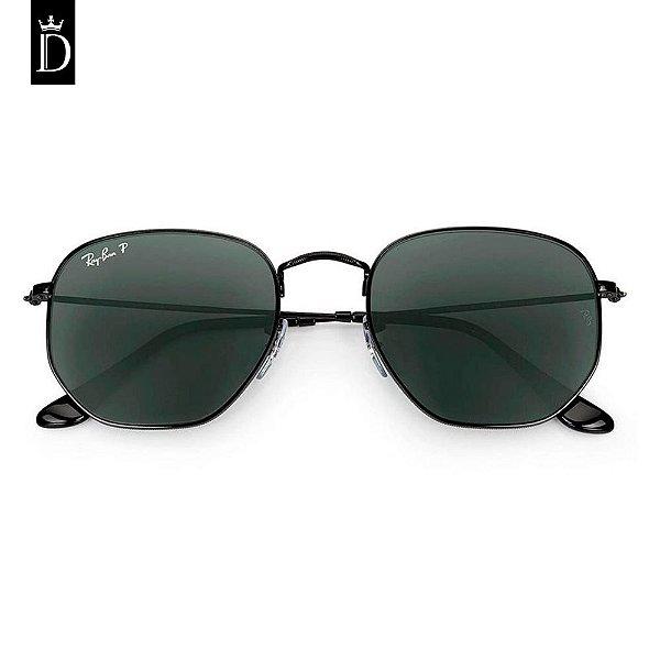 70cf896fa4 Óculos Ray-Ban Hexagonal- Preto - Dionísio Oficial Men's Store