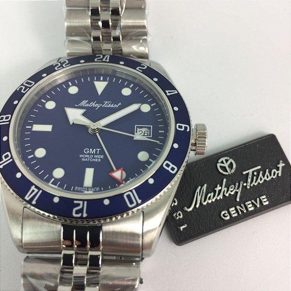 Mathey-Tissot Rolly Vintage GMT Quartz H902ABU