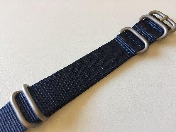 Pulseira NATO Azul 22mm
