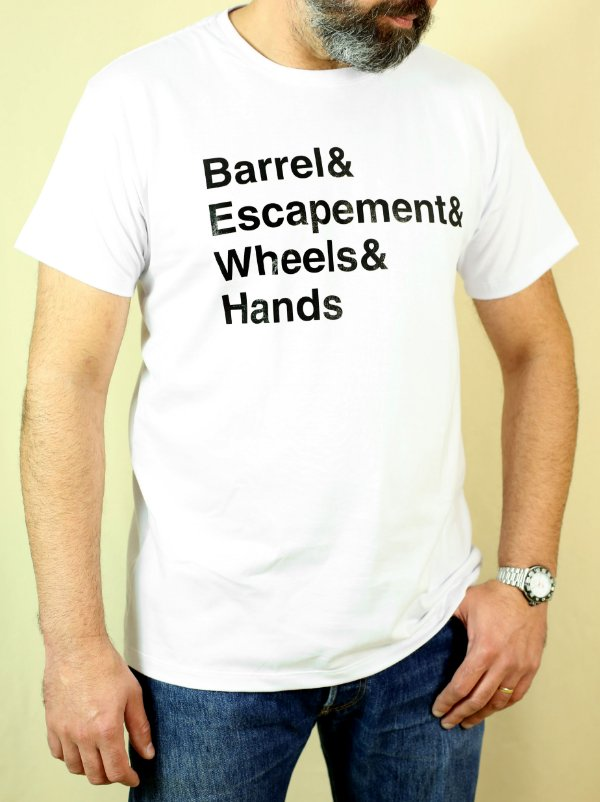 Camiseta MOVEMENT PARTS BRANCA (PRÉ VENDA)