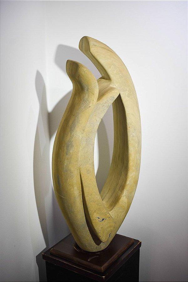 Escultura Clecius Coser