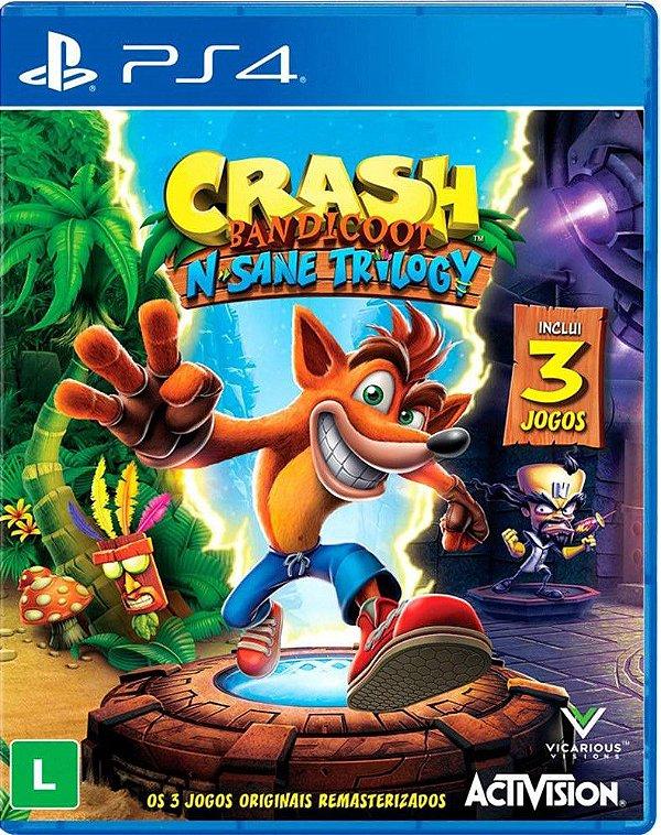 Crash Bandicoot N. Sane Trilogy - Midia Digital