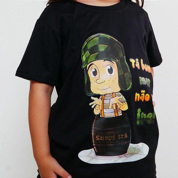 Camiseta Infantil - Não Se Ire Preta