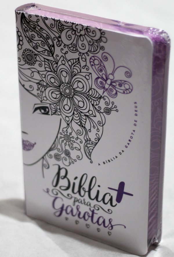 Bíblia Para Garotas Glitter Roxo