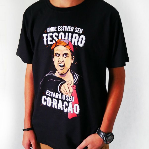 Camiseta - Tesouro Quico