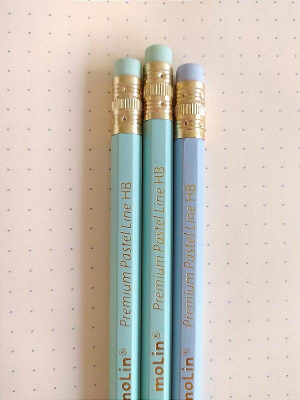 Conjunto 3 lápis Pastel