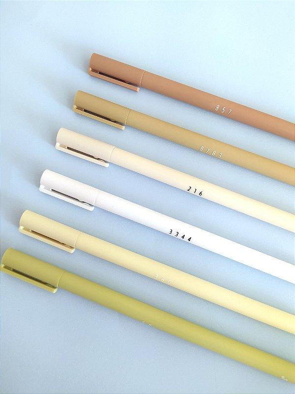 Conjunto de canetas gel - Terra