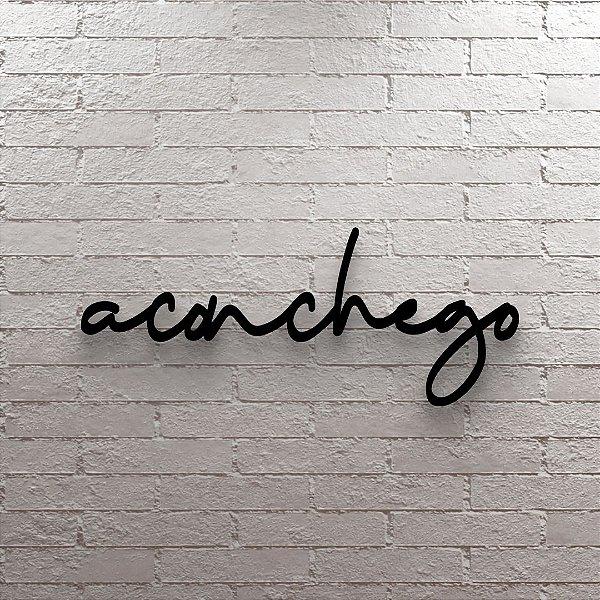 Placa Decorativa Aconchego