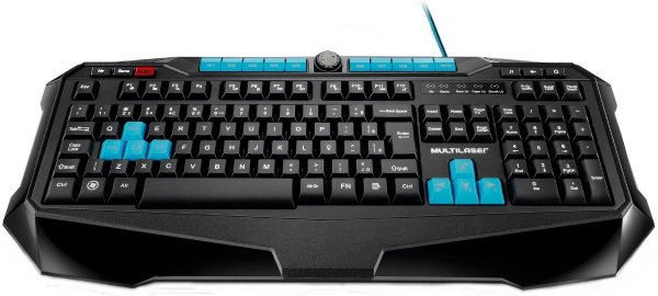 TECLADO GAMER USB METAL WAR, MULTILASER TC185