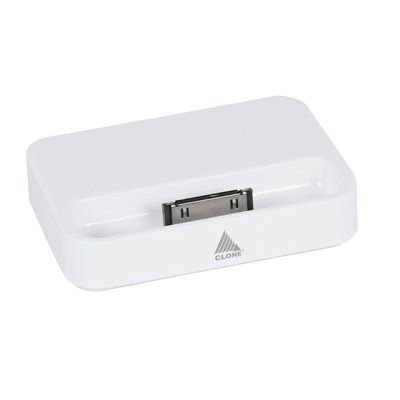 Suporte e Base para Recarga iPhone4 Branca, Clone 18056