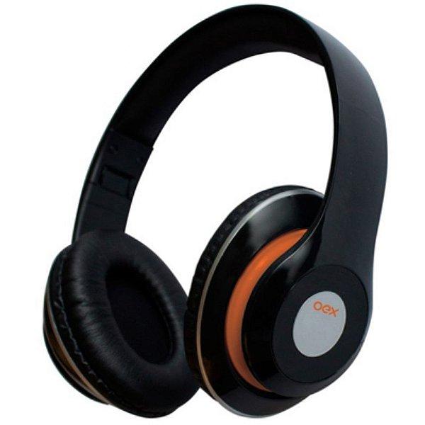 FONE DE OUVIDO HEADSET BALANCE PR COM ENT. MICRO SD, OEX HS301
