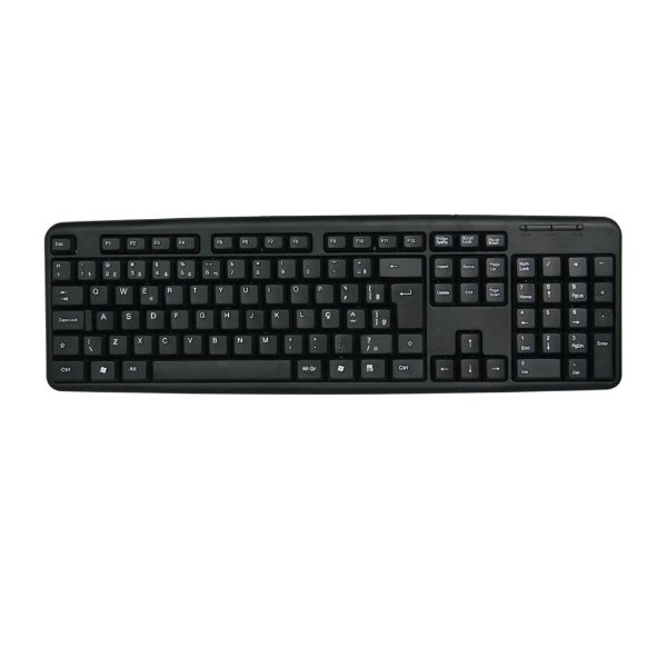 TECLADO USB LEVEL PRETO, NEWLINK TC308