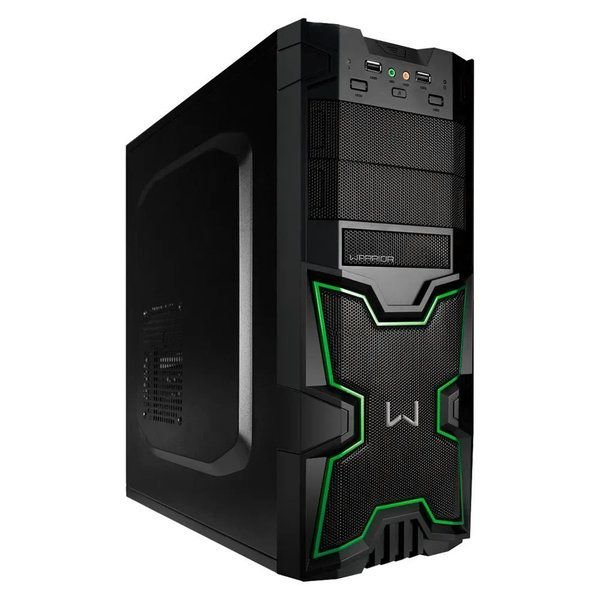 GABINETE TORRE WARRIOR KANZA GAMER, MULTILASER GA154