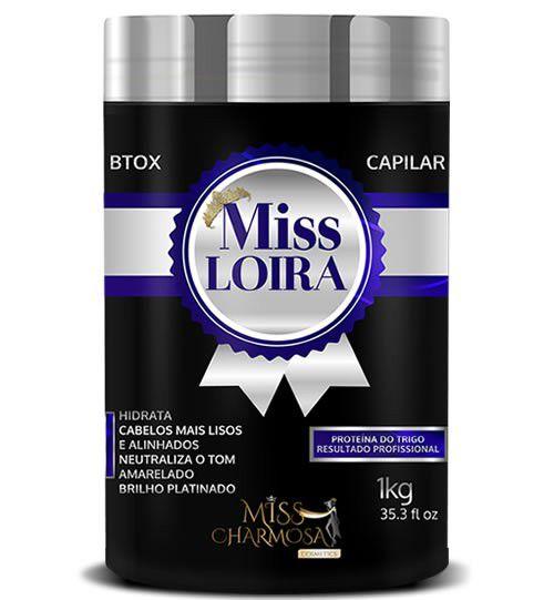 Btox Bolnd Capilar Miss Loira 1kg