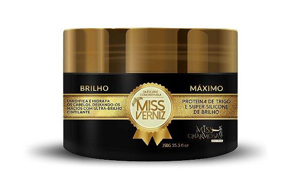 Máscara Hidratação Miss Verniz Brilho Máximo 250g