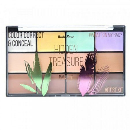 Paleta de Corretivo Hidden Theasure Ruby Rose HB-8098
