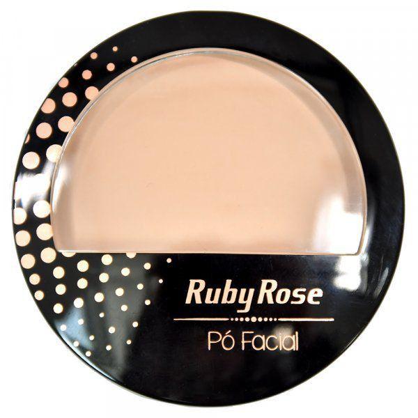 Ruby Rose Pó Facial HB-7212 - Cor 20 Natura