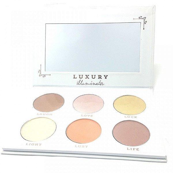 Paleta Iluminador Luisance Luxury 6 Cores L3051