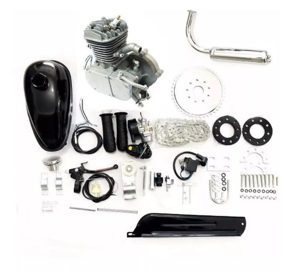 Motor Para Bicicleta - Kit Completo 80cc
