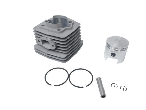 Cilindro Pistão Anéis Motor 80cc Biela Alta Modelo Novo Alumínio Injetado