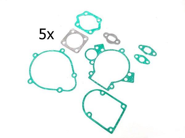 Juntas Completas Do Kit Motor 80cc Com 5 Unidades