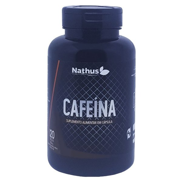 Cafeína 500mg - Nathus - 120 Cápsulas