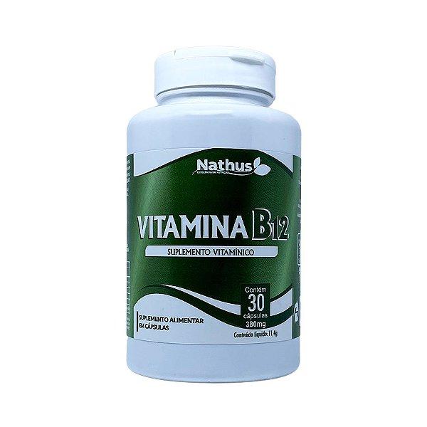 Vitamina B12 380mg - 30 Cápsulas