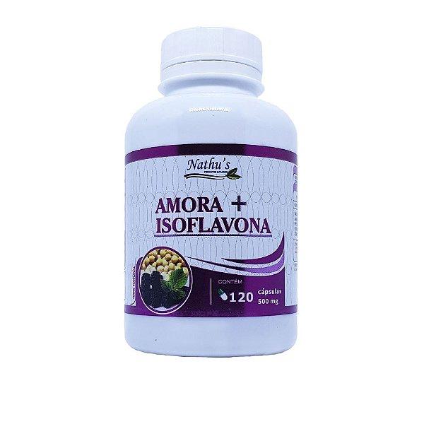 Amora + Isoflavona 500mg - 120 Cápsulas
