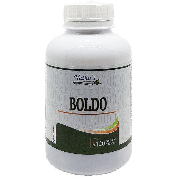 Boldo 500mg - 120 Cápsulas