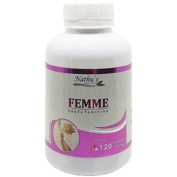 Femme Saúde Feminina 500mg - 120 Cápsulas