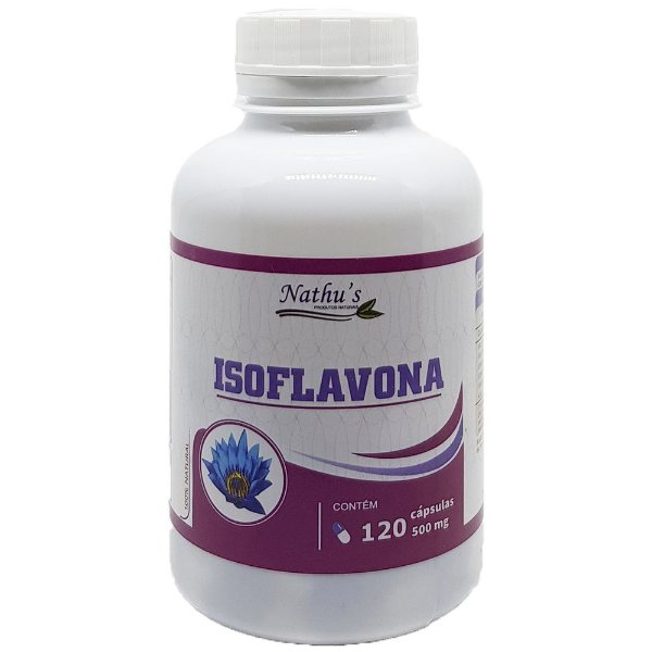 Isoflavona 500mg - 120 Cápsulas