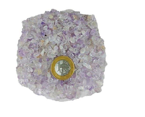 1kg De Pedra Rolada Cascalho De Ametista Natural Chakra